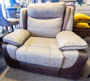 chair, vintage, Comfortable, footstool, funiture navan, Ireland, Living room furniture