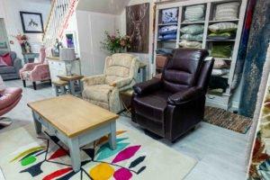 reclainer, chair, armchair, fabric, leather, furniture,Navan, Ireland