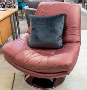 chair, armchair, leather, soft, comfortable, modern, furniture, Ireland, Navan
