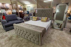 bed, mattress, bed frame, head board, furniture, Ireland, Navan, mirror