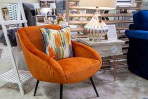 Chair, armchair, comfortable, soft, fabric, leather, funiture, Navan, Ireland, Living room,