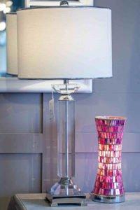lamp, light, vase, home decoration, furniture, Ireland, Navan, glass, cristal