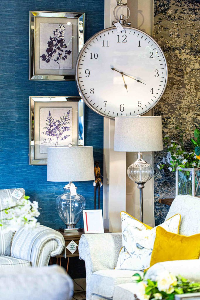 Clock, glass, picture frame, lamp, light, Table, small, home decoration, funiture navan, Ireland, Living room furniture, side table, tv unit, hall table, console table, sofa table, coffee table