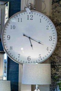 Clock, glass, hanging, home decoration, Ireland, furniture, Navan