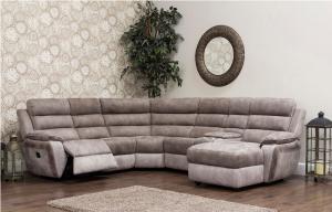 Modular furniture, living room furniture Ireland sofa corner leather fabric